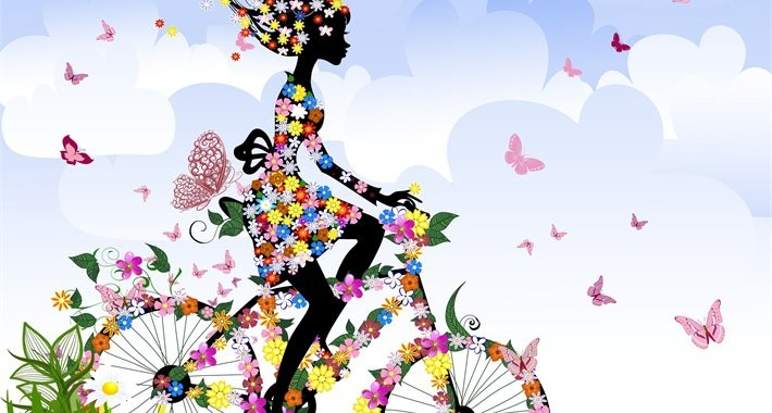 thumb2-girl-flowers-colors-silhouette